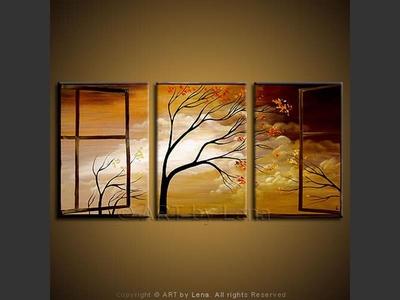 Open Window - modern artwork