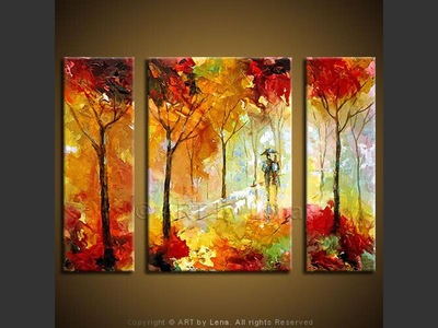 Walking in The Woods - wall art