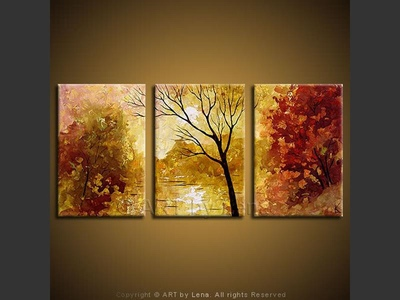 Autumn Colors - contemporary painting