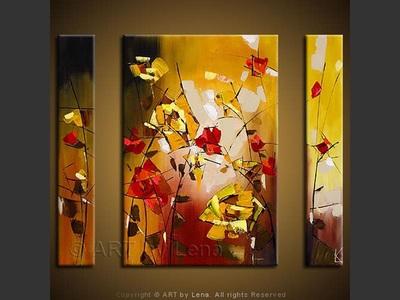 Roses Jaunes - wall art