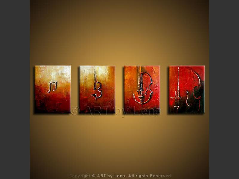 Music Evolution - contemporary painting