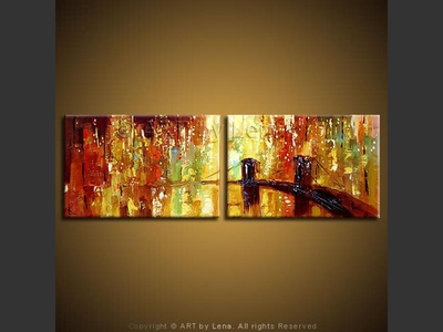 City Lights - home decor art