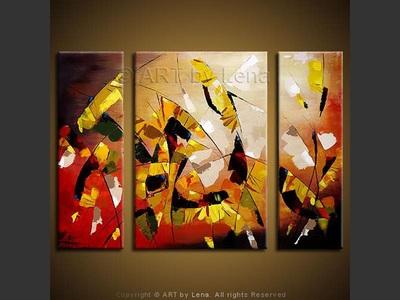 Sunflower Shatters - original painting by Lena Karpinsky