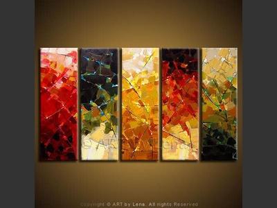 Rainbow Of Autumn Lights - home decor art