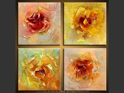 Four Roses - wall art