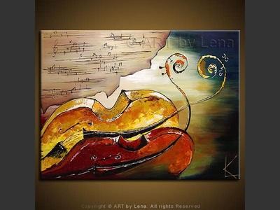 Romantic Adagio - contemporary painting