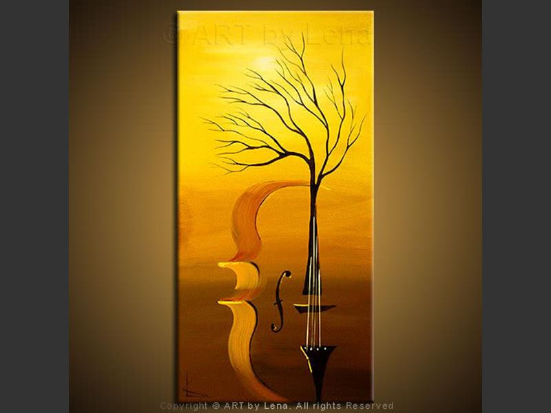 Live Music - contemporary painting