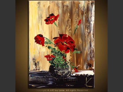 Bouquet: Red - art for sale