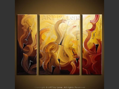 Listening to The Yale Cellos - wall art