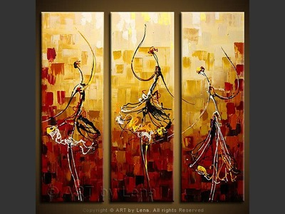 Russian Ballet - contemporary painting