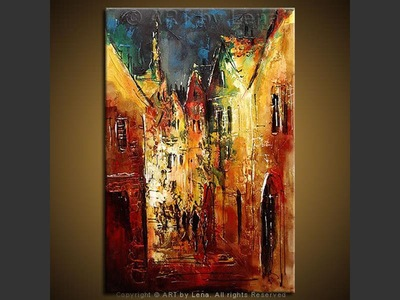 Charming Streets of Bern - home decor art