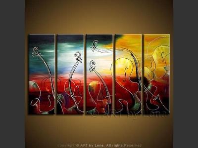 Music Tide - modern artwork
