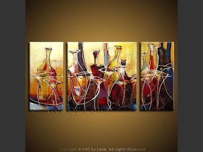 Elegant Vintages - contemporary painting