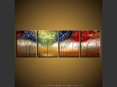Rainbow Woods - wall art
