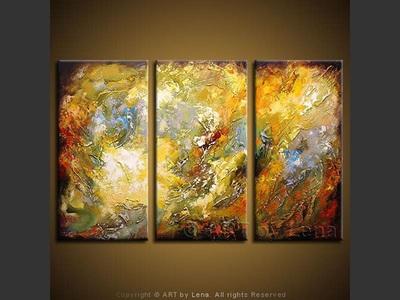 Azure Drops in Whirlpool - art for sale