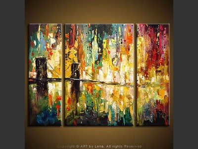 MegaCity - contemporary painting