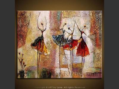 The Romantic Ballet - wall art