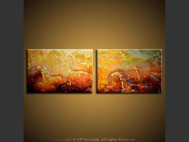 Stallions - art for sale