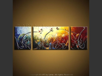 Sunlight Cantabile - contemporary painting