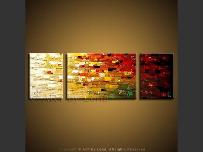 West Side Rhythms - contemporary painting