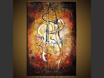 Jazz Bassist - home decor art