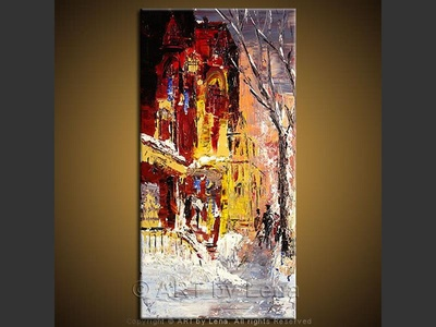 Winter Etude - home decor art