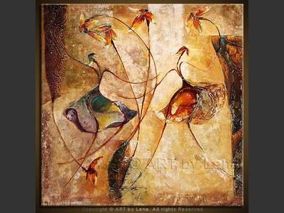 Dancing Flowers - wall art