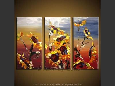 Los Girasoles - home decor art