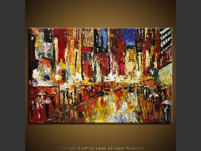 Broadway Nights - modern artwork