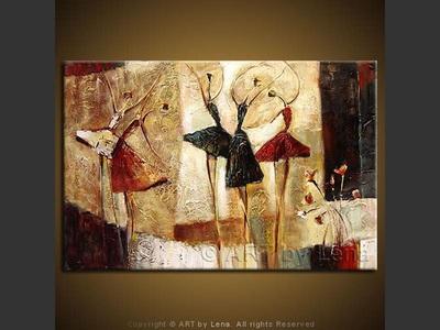 Bolshoi Ballet - modern artwork