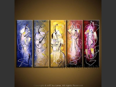 Jazz In The Light - contemporary painting