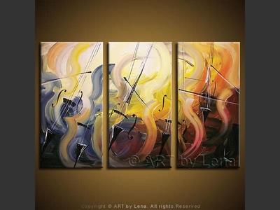 Masters of Music - original painting by Lena Karpinsky