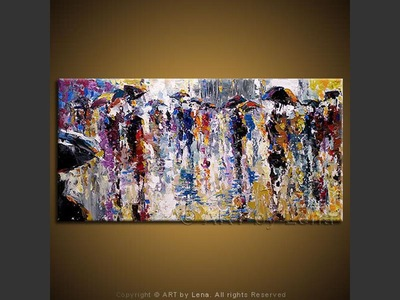 La rue Parisienne - art for sale