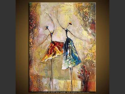 Le Jeune Ballet - contemporary painting