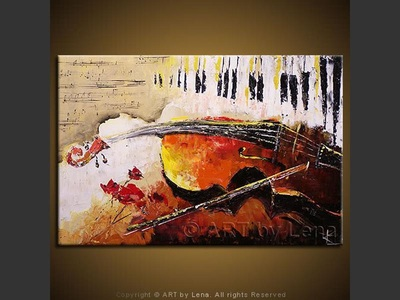 Music Souvenir - modern artwork