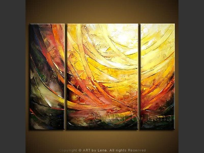 There is Light! - contemporary painting