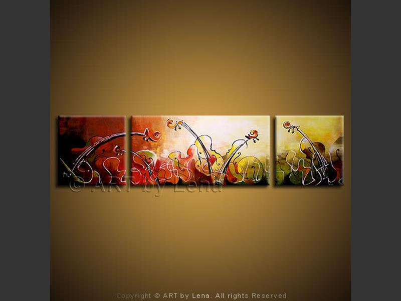 String Concerto - contemporary painting