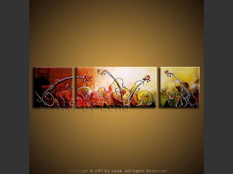 String Concerto - modern artwork