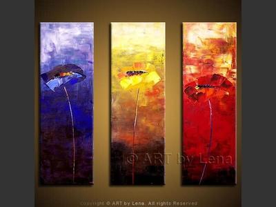 Chameleon Poppies - wall art