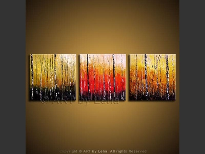 The Birch Forest - art for sale