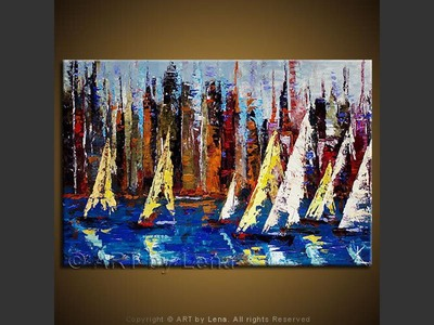 Hudson Regatta - art for sale