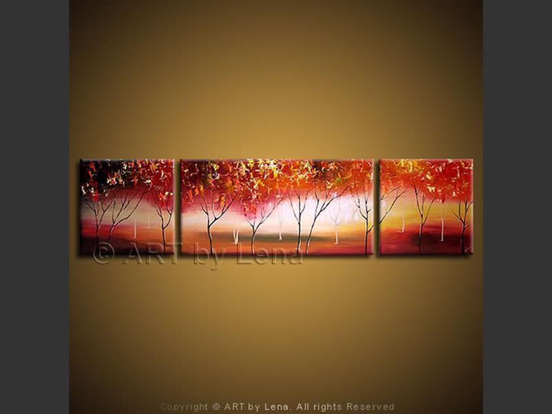Autumn Hill - modern artwork