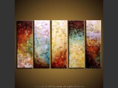 Surface and Deep - modern artwork