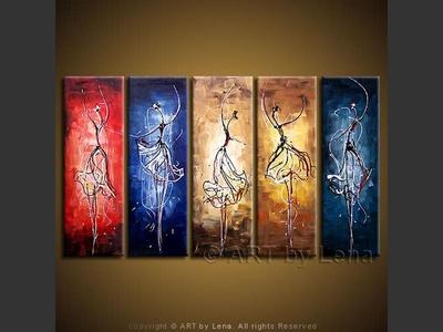 Corps de ballet - art for sale