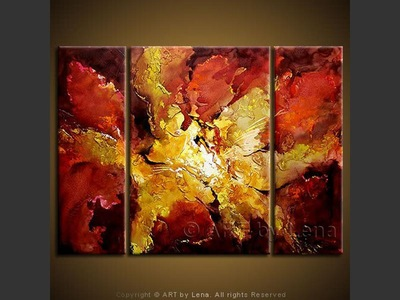 Orchidea Sangria - home decor art