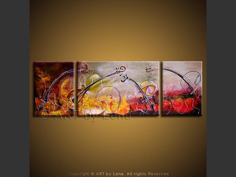 Il Trillo del Diavolo - original canvas painting by Lena