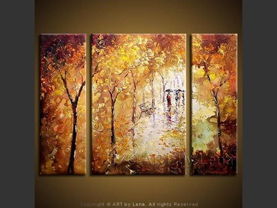 Paysage d'automne - wall art