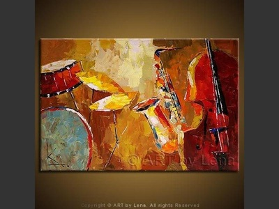 Rhythm-n-blues - contemporary painting
