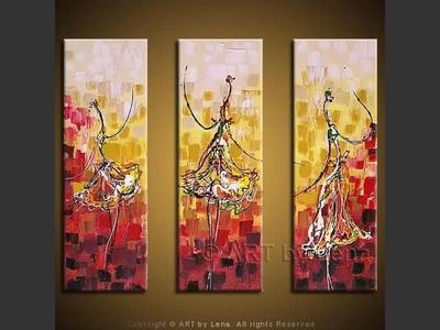Firebird Dance - modern artwork