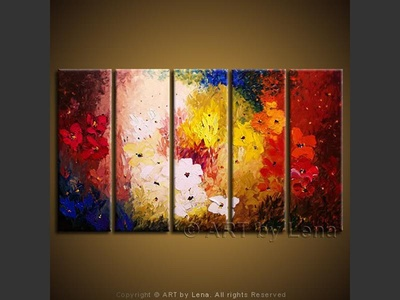 Summer Colors - modern artwork